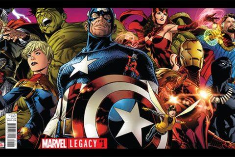 Anteprima Marvel Legacy #1