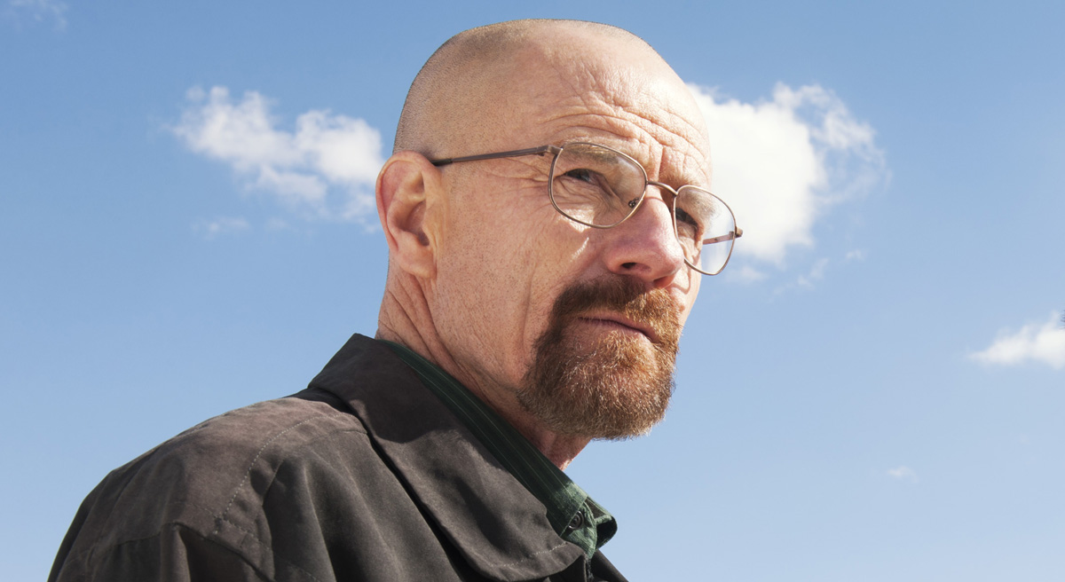 "This image released by AMC shows Bryan Cranston as Walter White, left, and Aaron Paul as Jesse Pinkman in a scene from ""Breaking Bad."" he program was nominated for an Emmy Award for outstanding drama series on, Thursday July 18, 2013. Paul was nominated for best supporting actor in a drama series and Cranston was nominated for best actor in a drama series. The Academy of Television Arts & Sciences' Emmy ceremony will be hosted by Neil Patrick Harris. It will air Sept. 22 on CBS. (AP Photo/AMC, Frank Ockenfels )"