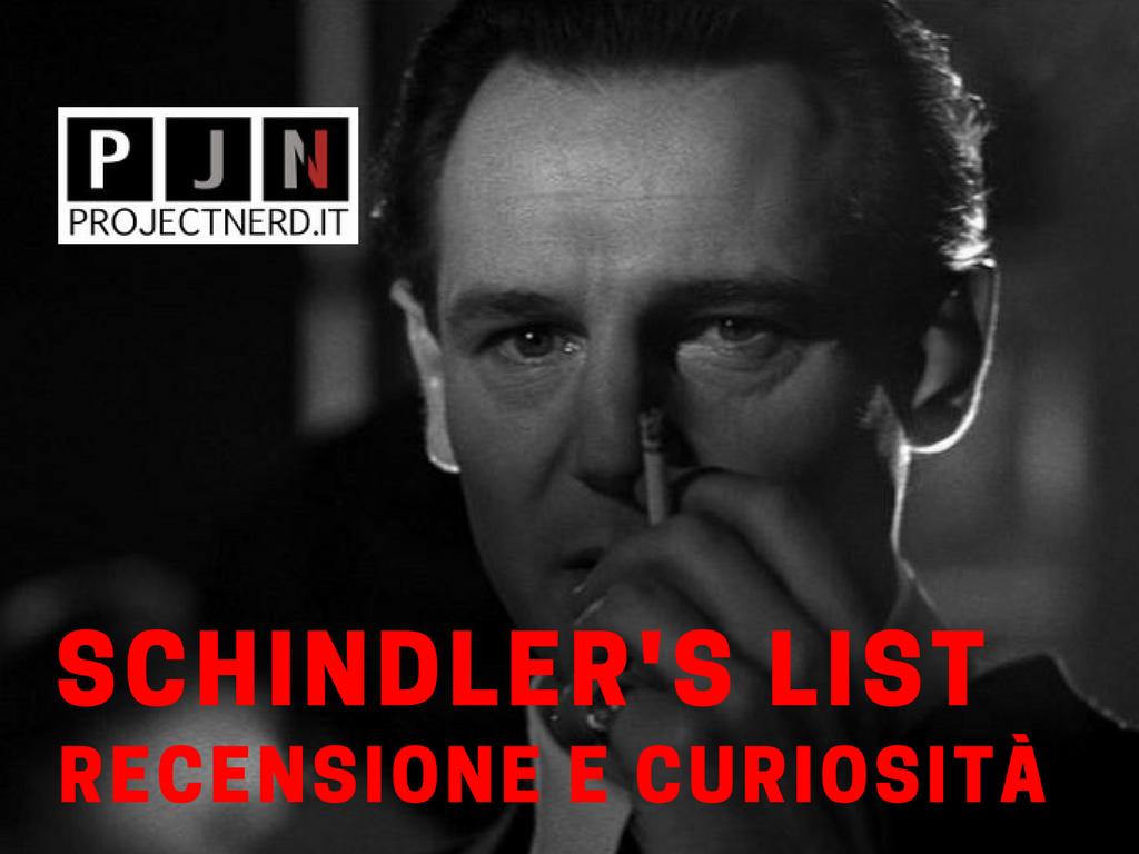 Schindler's list recensione