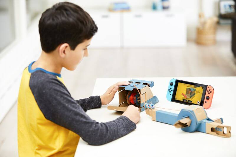 Nintendo Labo kit bambino