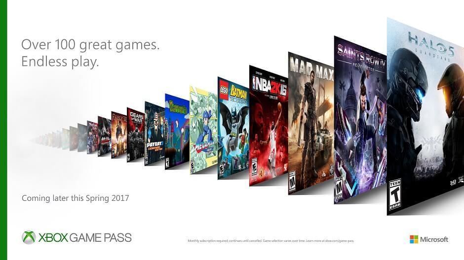 xbox game pass esclusive