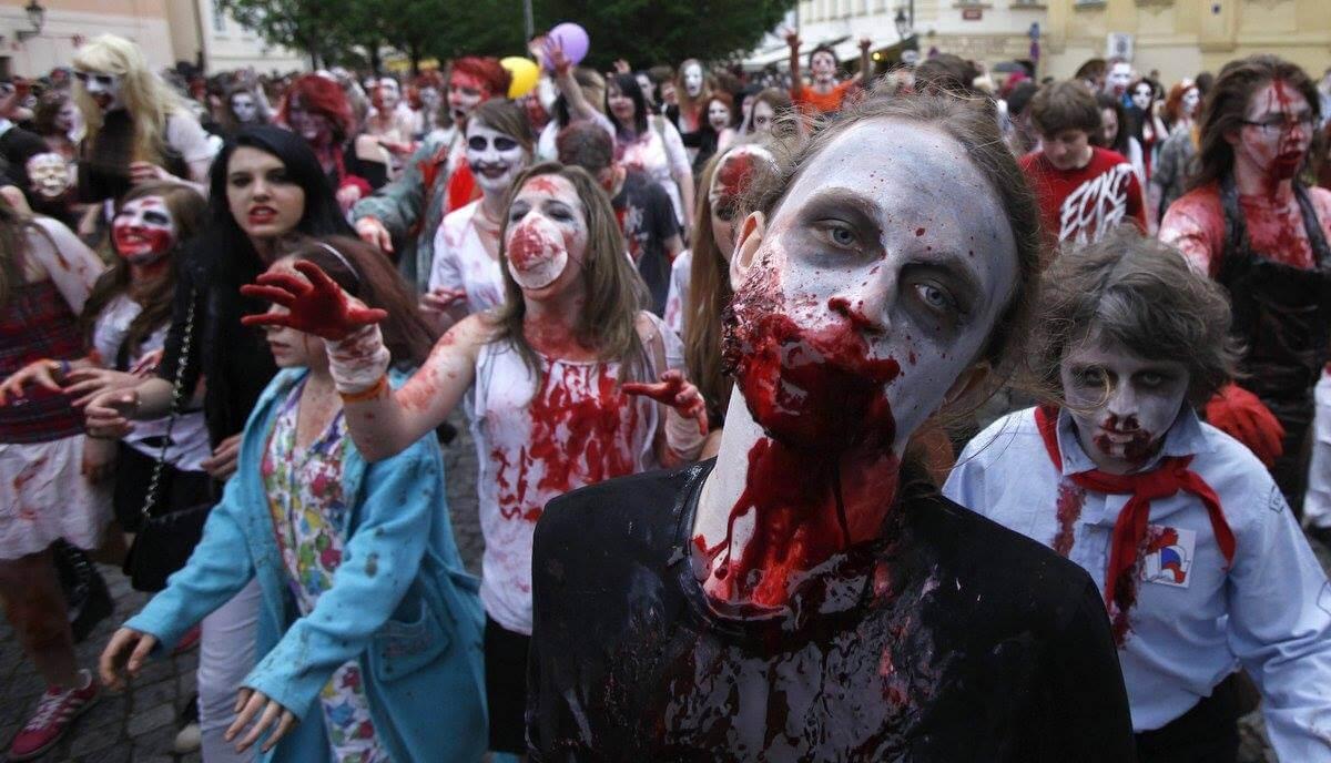 zombie walk gruppo