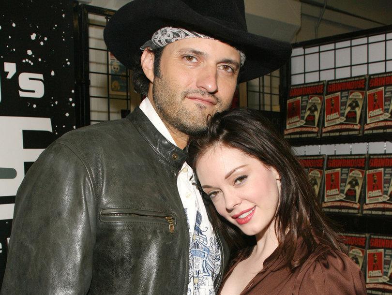 Rose McGowan e Robert Rodriguez
