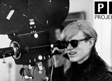 Andy Warhol alla cinepresa