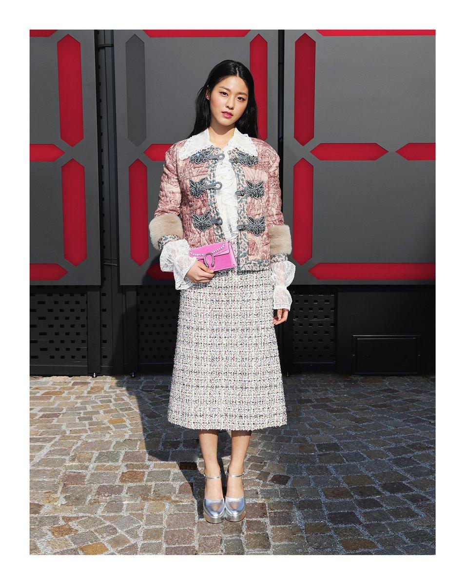 Alcuni idol durante la settimana della moda milanese for Settimana della moda milano 2018