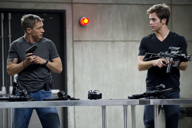 Chris Pine e Tom Hardy, possibili protagonisti del film basato su Call of Duty, insieme in Una spia non basta