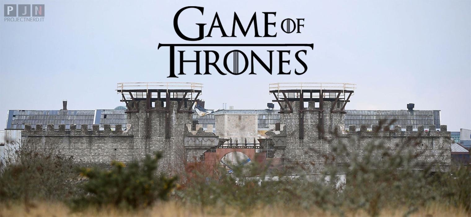 Il castello di Winterfell di Game of Thrones