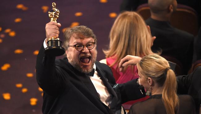 Guillermo del Toro, La forma dell'acqua (Chris Pizzello/Invision/AP)