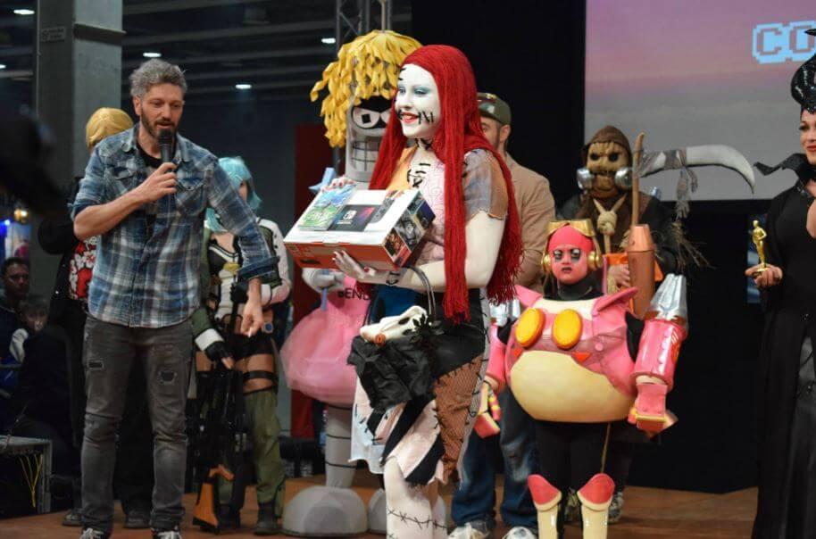 model expo italy 2018 switch ross cosfight