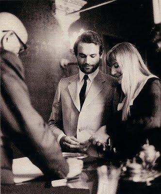 Terence Hill con la moglie Lori Hill