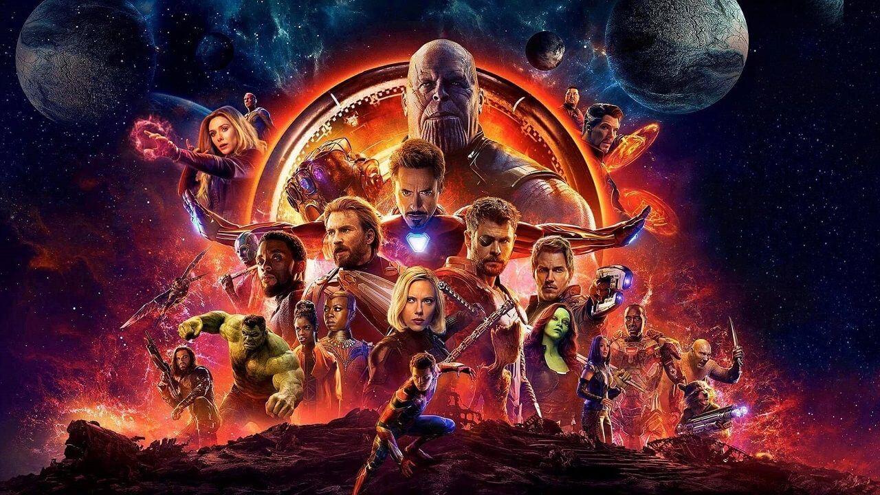 Locandina promozionale di Avengers: Infinity War
