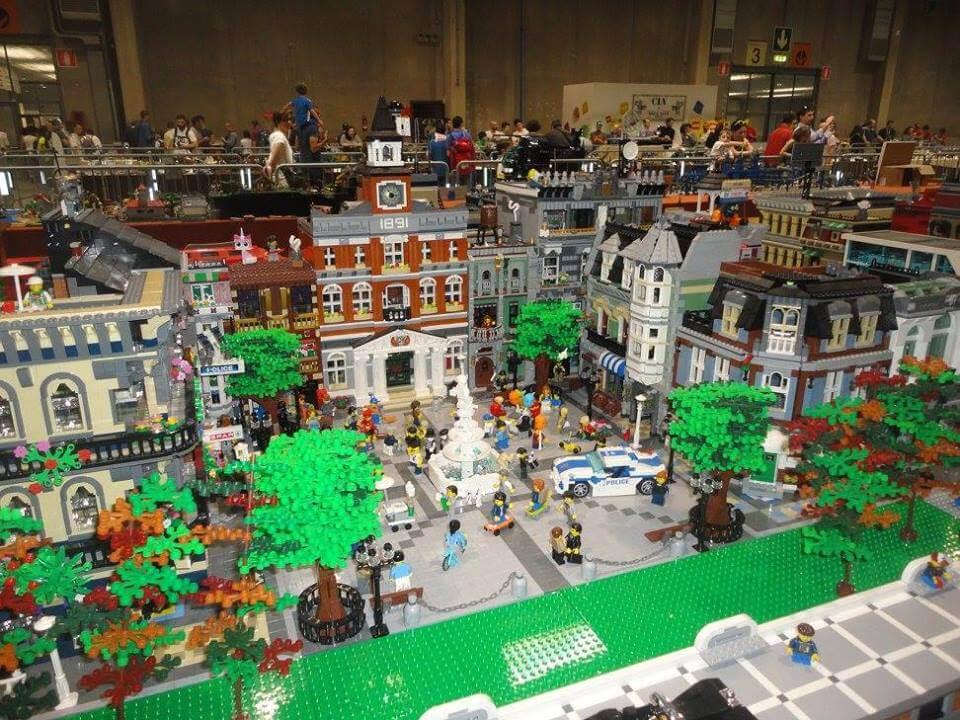 Model expo italy 2018 6000 metri quadrati di lego for 6000 metri quadrati di casa