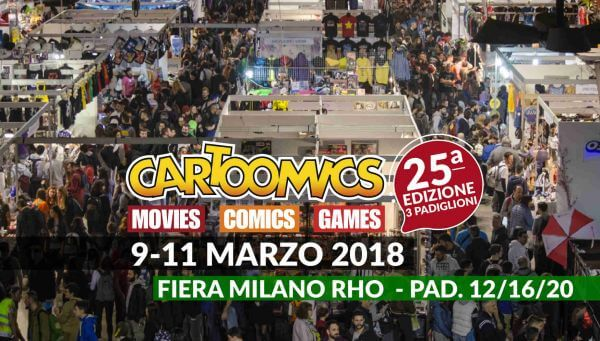 cartoomics 2018 la migliore