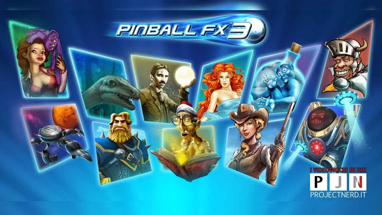 pinball fx3 su nintendo switch