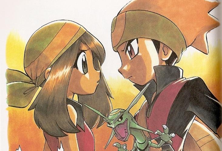 Pokemon Adventures rubino e zaffiro