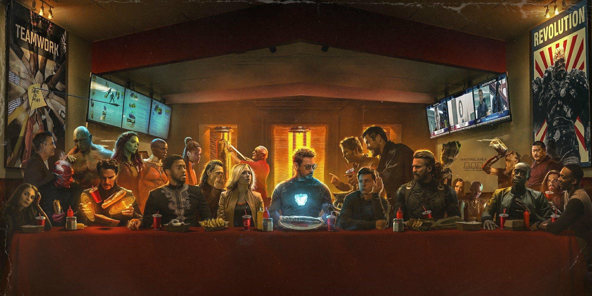 Avengers: Infinity War - BossLogic