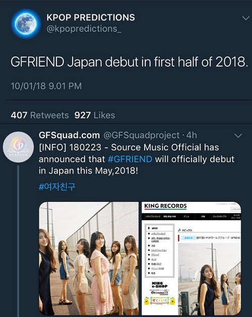 gfriend prediction on JumPic com