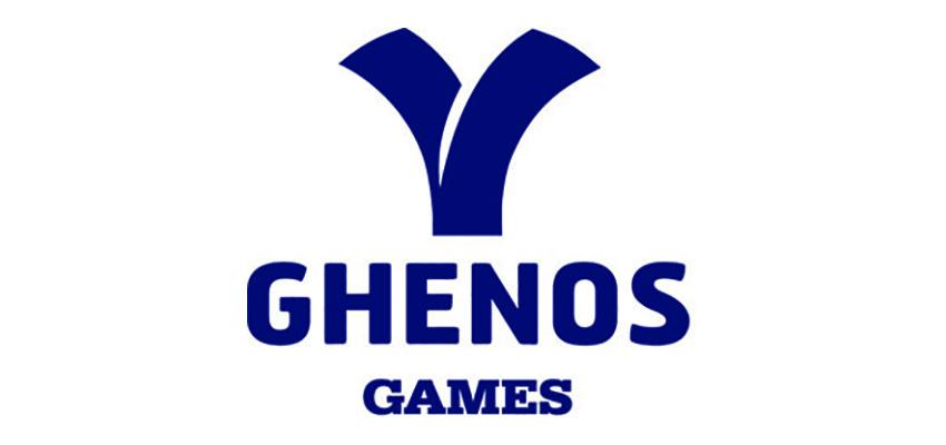 Logo vettoriale Ghenos bianco -solo logo