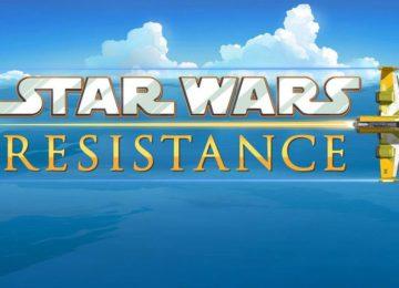 Il primo logo rilasciato di Star Wars Resistance