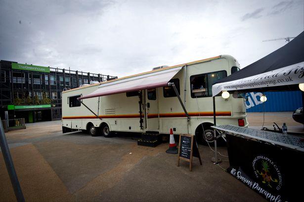 Il camper laboratorio di Breaking Bad riadattato a bar itinerante