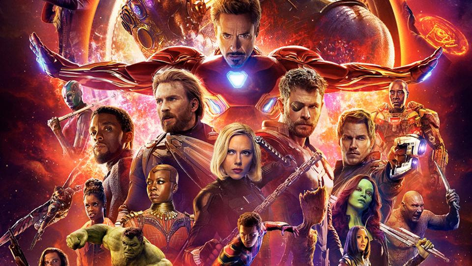 Anteprima Infinity War - poster