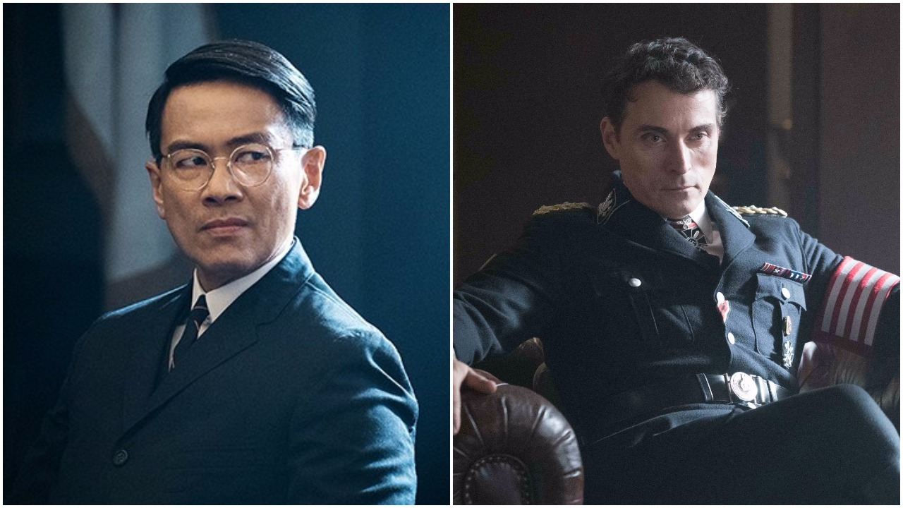 I protagonisti di The Man in the High Castle, Smith e Kido.