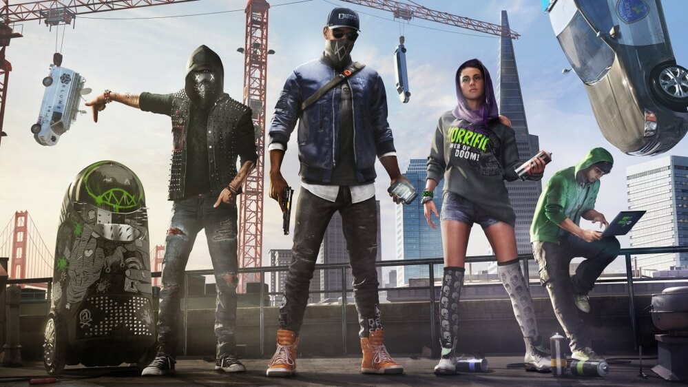 Watch Dogs 2 cars dedsec
