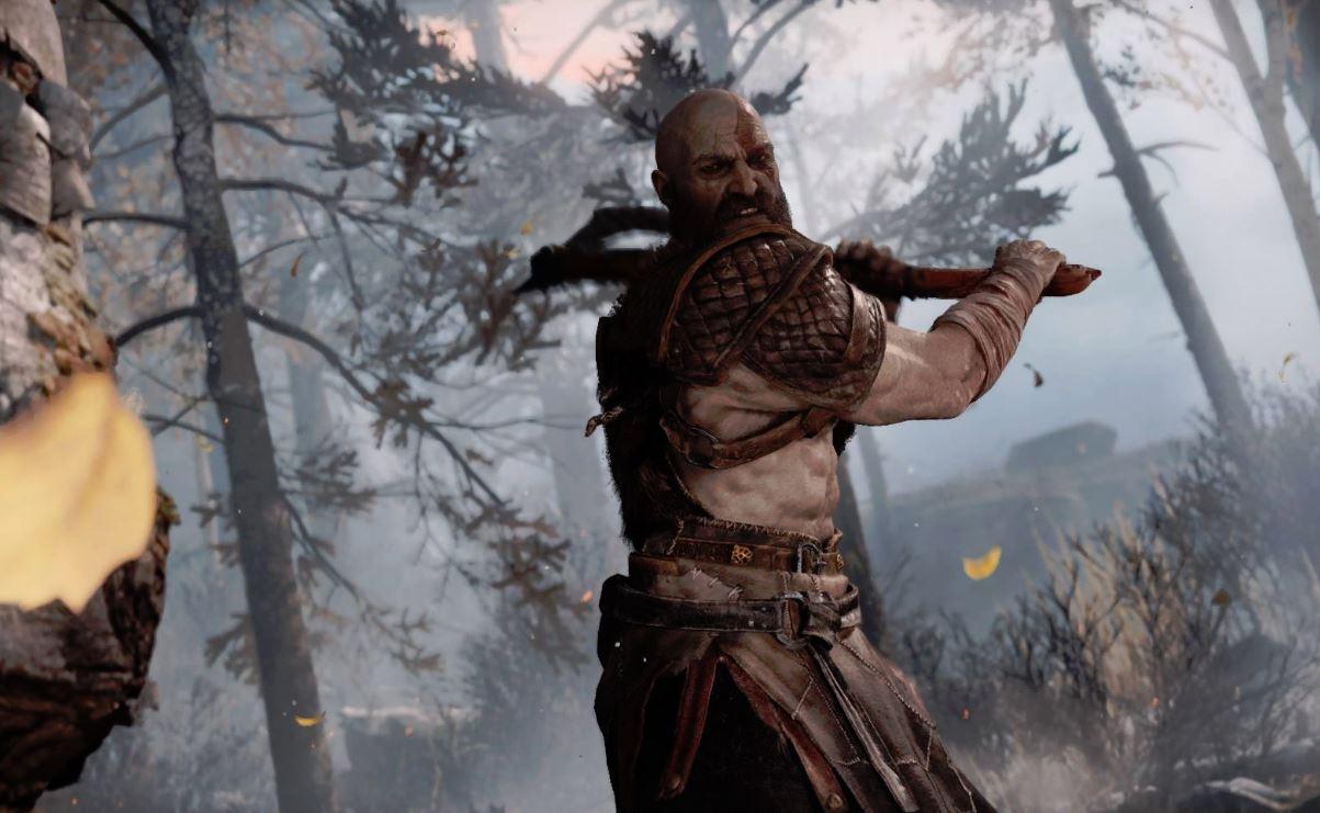 god of war ascia albero