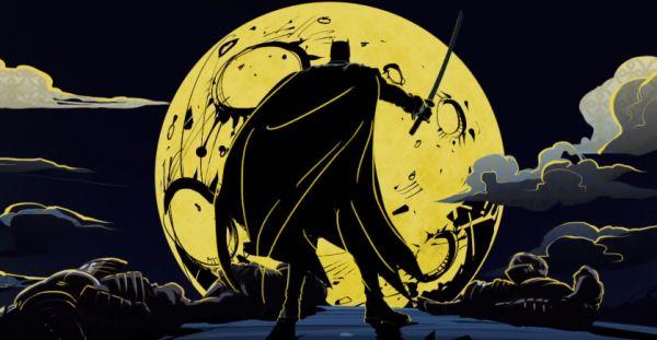 batman ninja manga copertina