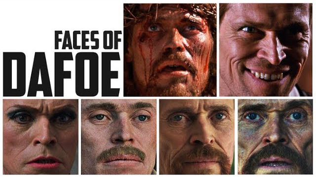 Willem Dafoe - faces - projectnerd.it