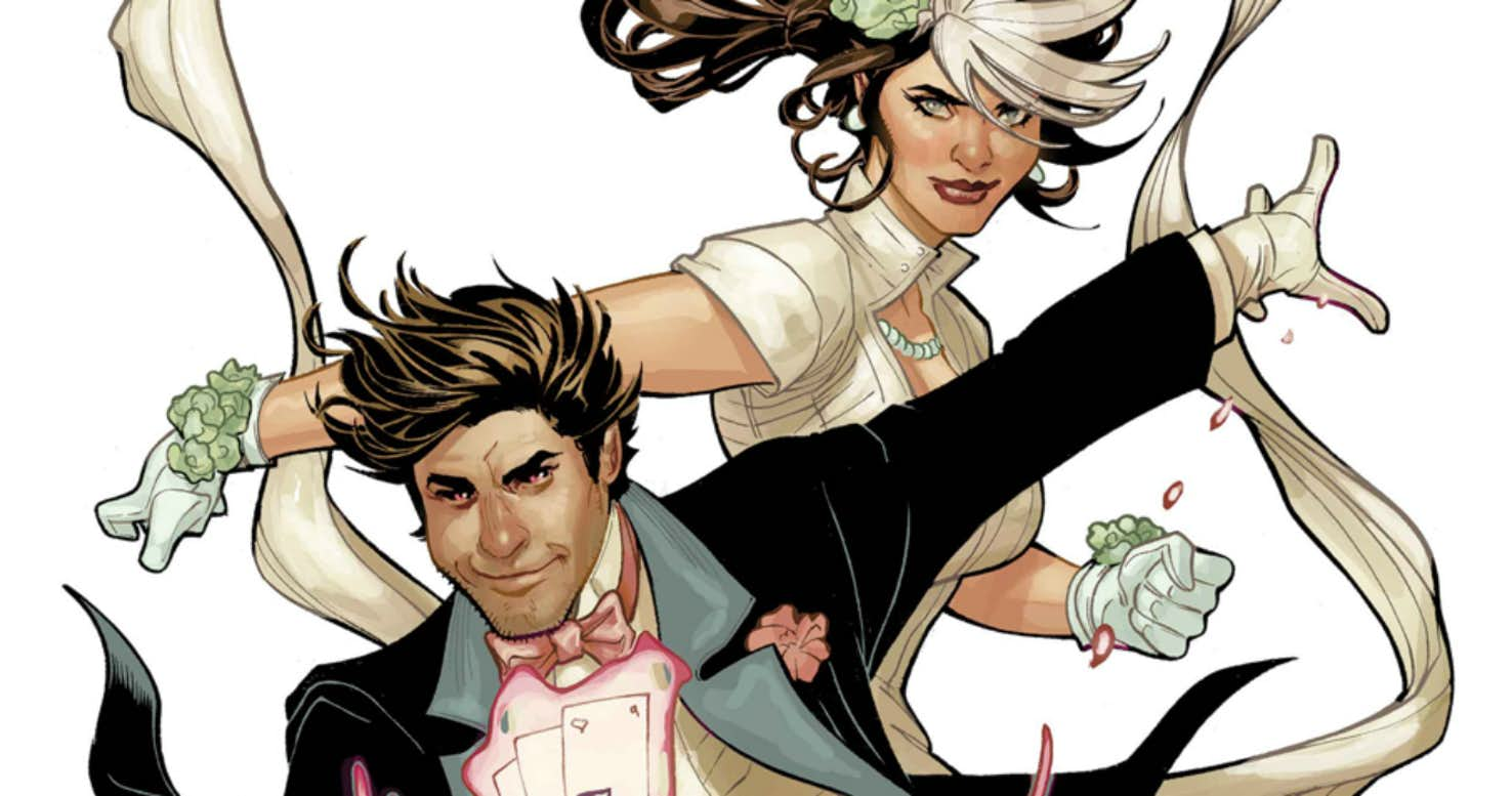 Rogue e Gambit Mr. and Mrs. X #1