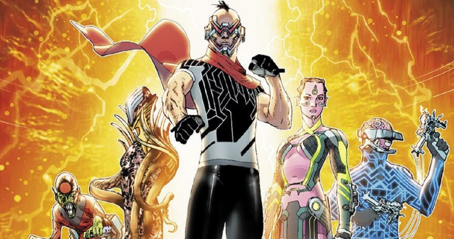 Electric Warriors #1 cover