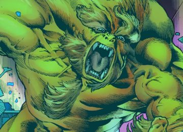 Immortal Hulk Sasquatch