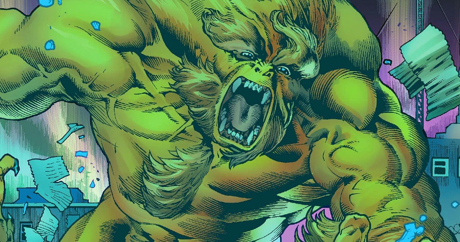 Immortal Hulk Sasquatch