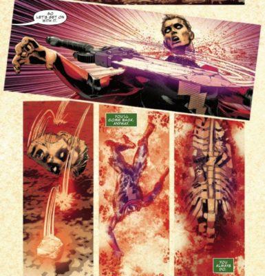 Infinity Wars morte Warlock