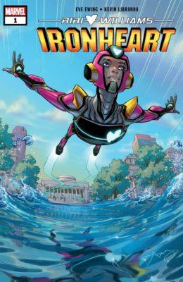 Riri Williams: Ironheart #1 cover