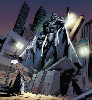 X-Men Blue #33 Magneto statua
