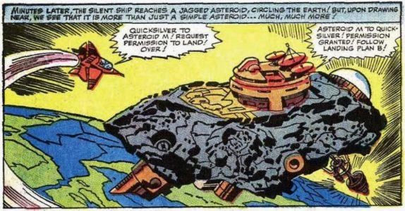 X-Men Blue Asteroide M 1964