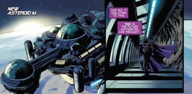 X-Men Blue #34 Asteroide M