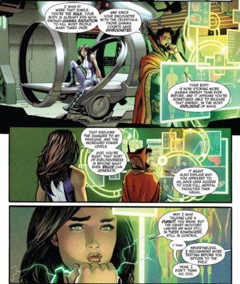 Avengers #8 She-Hulk Dottor Strange
