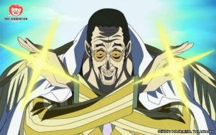 Frutto Glint-Glint (Pika Pika no Mi) One Piece