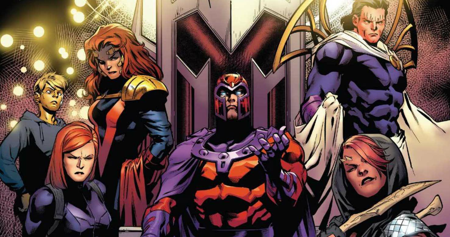 X-Men Blue Magneto Confraternita