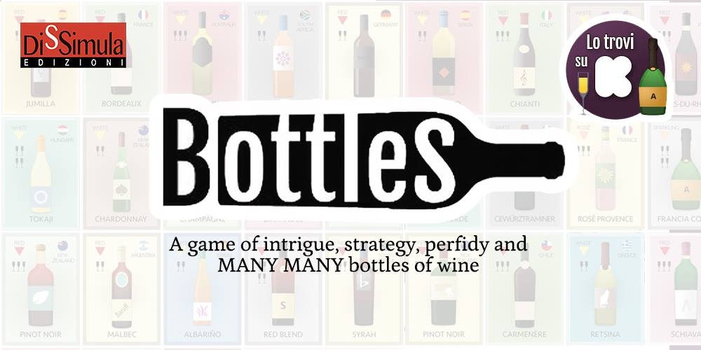 Bottles – A boardgame about wine
