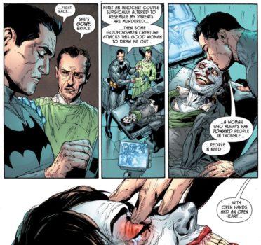 Detective Comics #995 morte Leslie