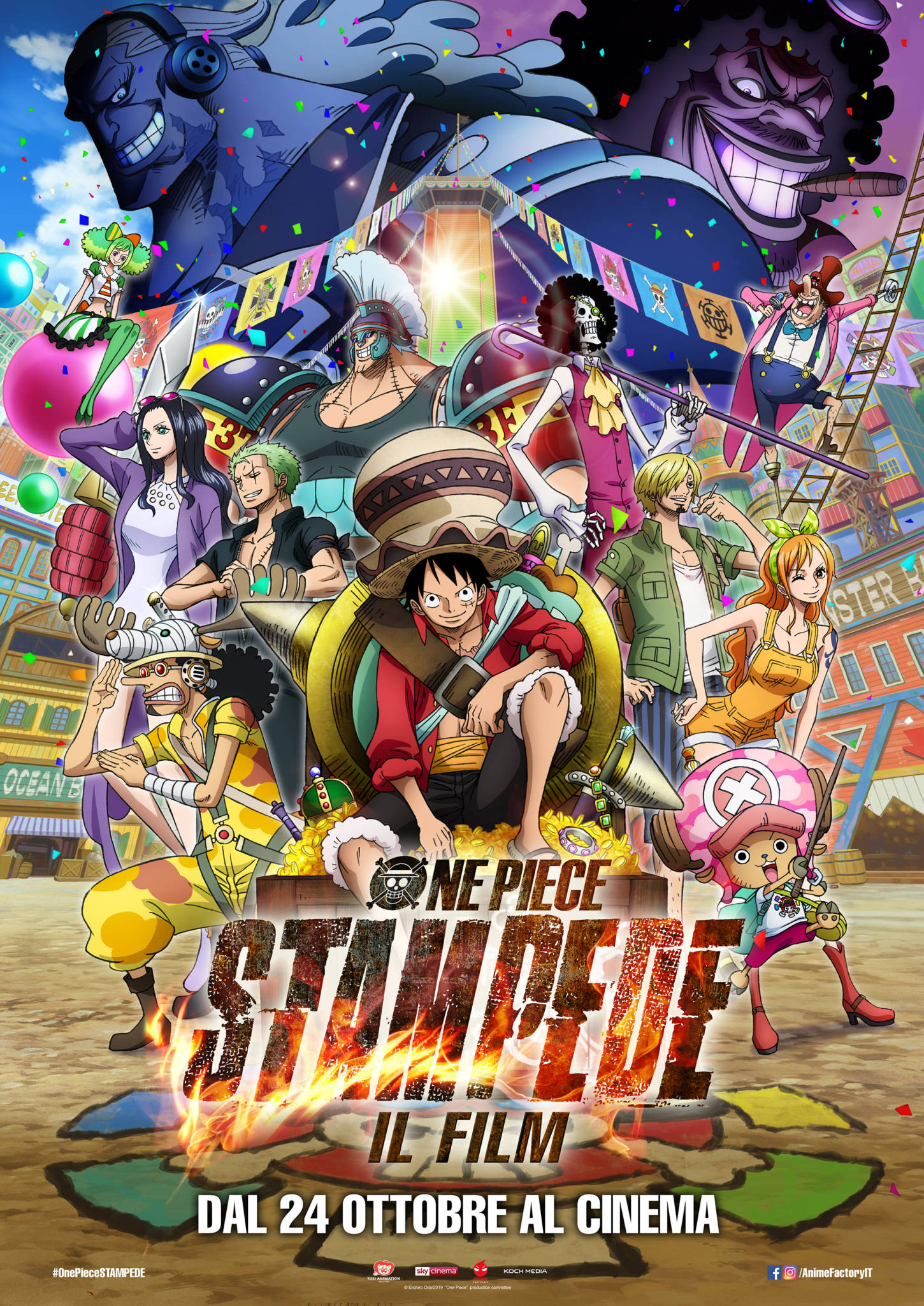 One Piece Stampede - Poster Ufficiale Italiano