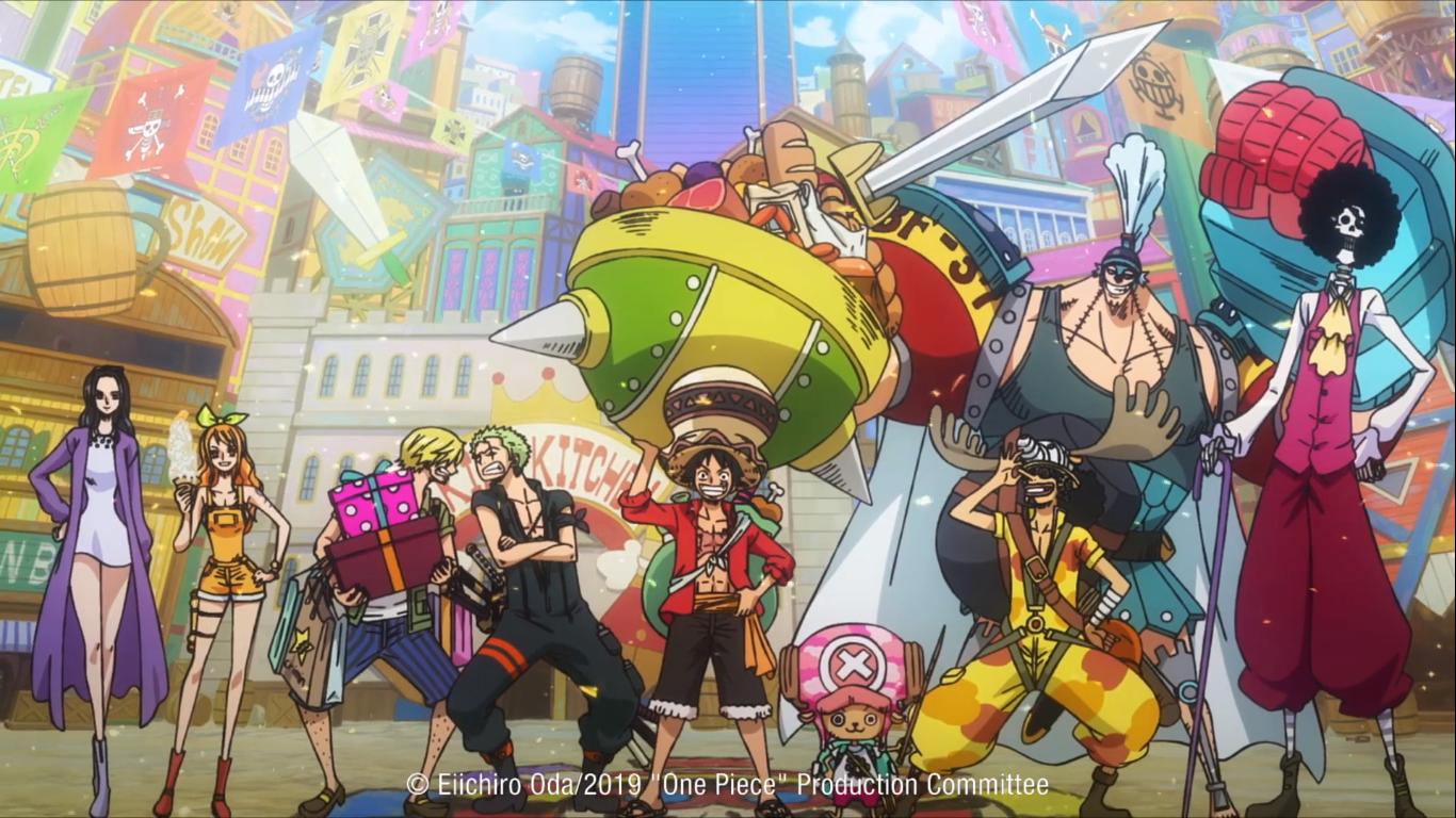 One Piece Stampede - il film copertina