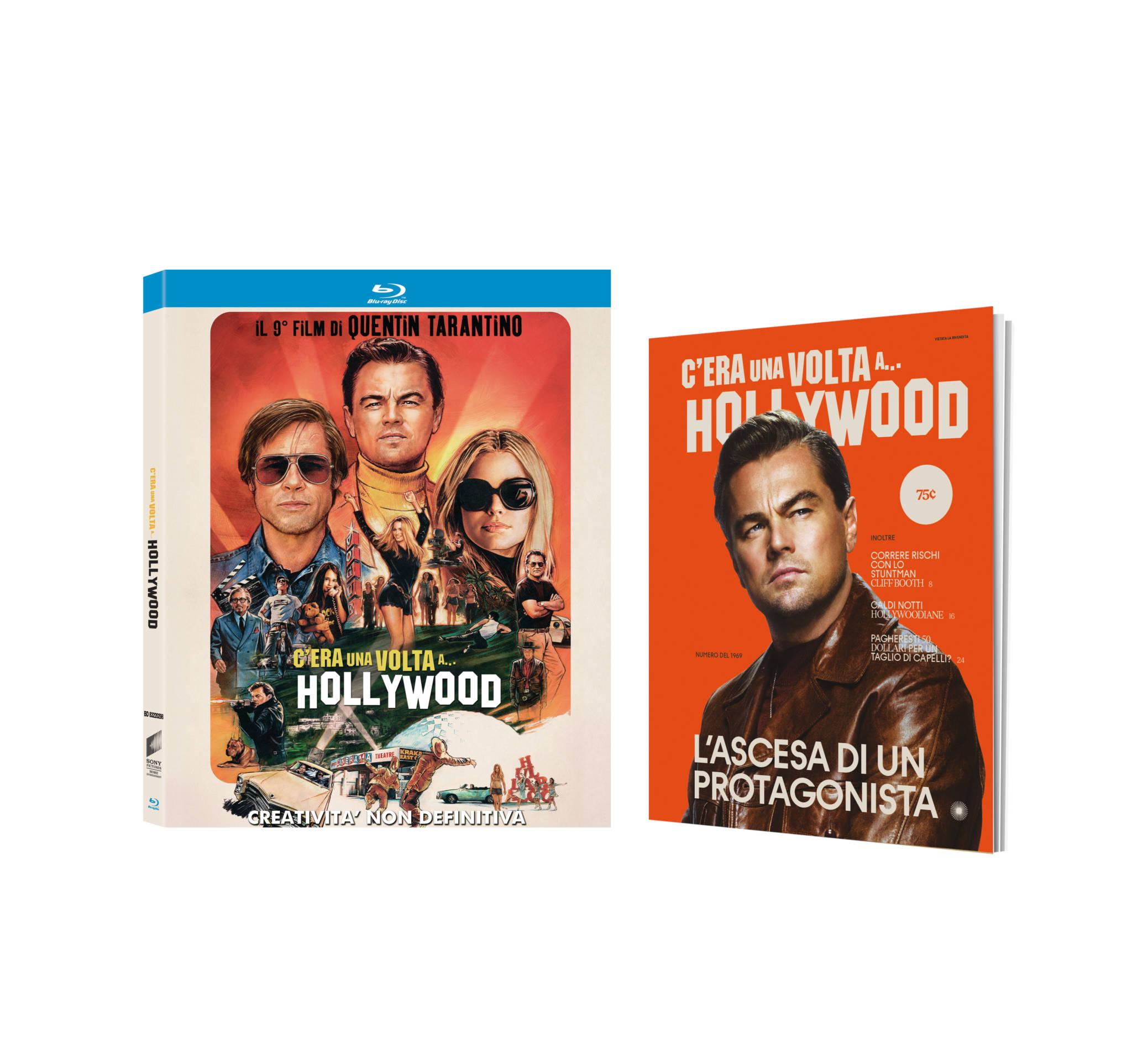 Risultati immagini per C'era una volta a…Hollywood in In Dvd, Blu-ray, Steelbook 4k Ultra HD Digital HD