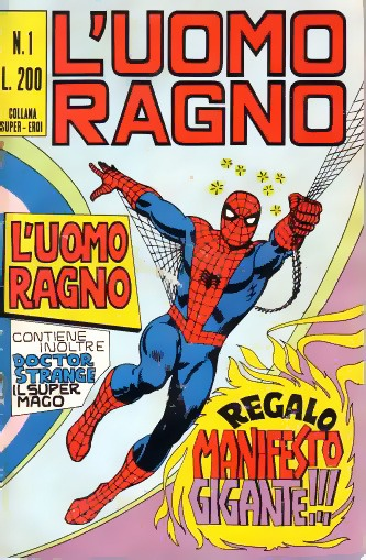 Napoli comicon 2020 mostra spider-man