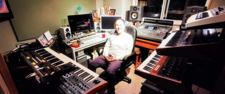 Musicista giapponese Hiroki Okano