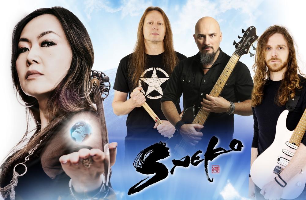band internazionale del progetto metal Saeko
